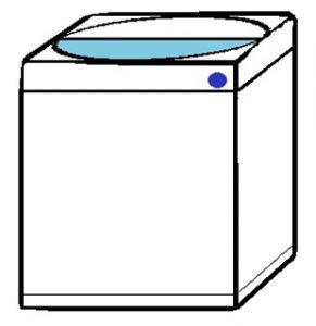 洗濯が簡単
